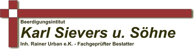 Beerdigungsinstitut Karl Sievers u. Söhne